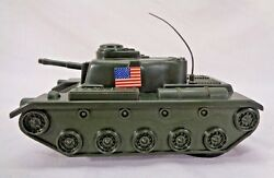 Vintage Marx Speed Buggy Military Army Tank Power Action 1974 Usa Tank - No Cord