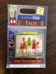 Disney Parks Trading Lunch Box Lunchtime Tales November 2018 The Muppets Pin Le