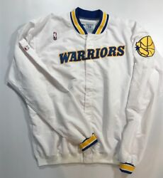 Vintage Golden State Warriors Team Issued 1994-95 Warmup Jacket Size 54 +3 Body