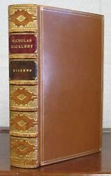 Charles Dickens 1812 1870 / The Life And Adventures Of Nicholas Nickleby 1839