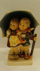 Vintage Adorable Hummel Figurine 71 38 Stormy Weather W. Germany, 6 Tall