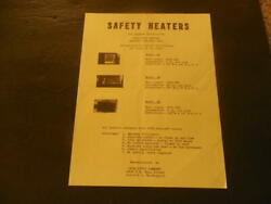 Advertisement For Cata-lytic Co Safety Heaters Seattle Wa Unknown Date Id34801