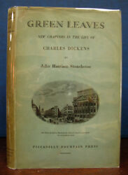 John Harrison Stonehouse / Green Leaves New Chapters In The Life Signed 1931