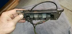 1969 Dodge Charger Ac A/c Air Conditioning Dash Control Controller Switches 69