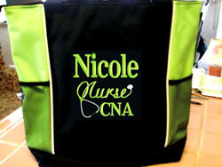 Tote SCHOOL Bag NURSE TEACHER GYM hospital medical school cna rn bsn lpn MA LPN $17.97