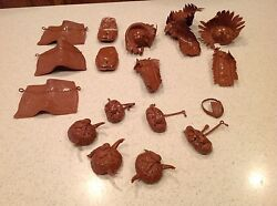 Vintage Louis Marx Lot Of 18 Accessories Horse And Indian Gear Johnny West