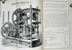 Trade Catalogue / Illustrated Catalogue And Price List Of Presses Dies Andc 1st Ed