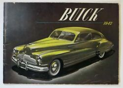 Automobile Trade Brochure / / Buick 1942 Out Of The Needs Of The Nation 1st 1941