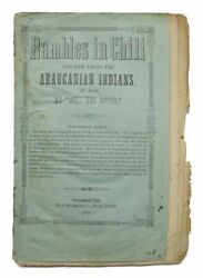 George B 1817 / Rambles In Chili And Life Among The Indians In 1836