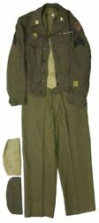 Wwii / 464th Bombardment Group Soldierand039s Uniform And Archive 1943 1945