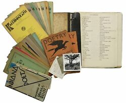 Poetry / Indiana / Poetry Archive Of Winona Montgomery Gilliland Including