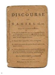 Theology A Hearty Friend to All the Colonies.  DISCOURSE On DANIEL vii 27 1st