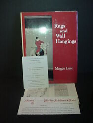 Rugs And Wall Hangings Book Maggie Lane Chinese Needlepoint Designs 1976