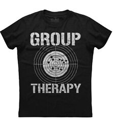 Group Therapy Shooting Funny Gun New Men#x27;s Shirt Unisex American Rights Laws Tee