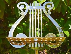 Music Stand, Solid Brass, Antique Rare