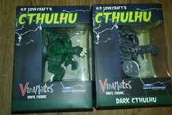 Hp Lovecrafte Dark Cthulhu Toys R Us Exclusive And Cthulhu Vinimates Vinyl Figures