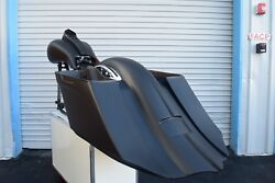 Touring Harley Davidson Stretched Saddlebags And Rear Fender Bags Bagger 09-2013