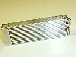 Kirby Beard And Co. Paris Art Deco Solid Silver Petrol Lighter - 1930 - France