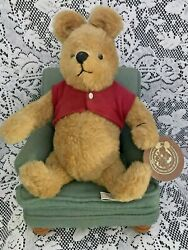 R. John Wright Winnie the Pooh and His Favorite Chair #68500 signed by artist
