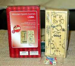 Totes Golf and Football Wooden Sports Games $7.50