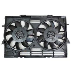 New Radiator And Condenser Fan Assembly Fits Audi A6 A7 S6 S7 2012-18 Au3115115