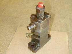 Burmeister And Wain Alpha Diesel Engine 343v Fuel Injector Pump. Free Shipping