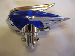 Antenna Topper Blue 1930and039s-1940and039s Cool Bomber Stylerat Rodhot Rodlead Sled