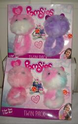 10044 Nrfb Skyrocket 4 Pomsies Pinky Speckles Blossom And Patches
