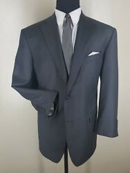 Thomas Mitchell Clothiers Recent Bespoke100 Wool Suit 2 Btn 1 Vent Fit 44r-46 R