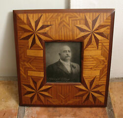 26 - Framed Photo Of First Statehood Governor Of Arizona 1912 George W.p. Hunt