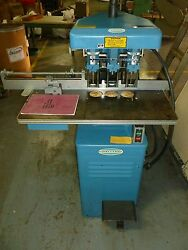 Challenge Eh-3a, 3 Hole Paper Drill 230v Blue