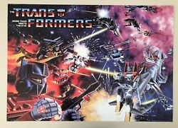 Transformers,more Than Meets The Eye,rare Authentic Licensed 2002 Poster