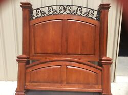 Bob Timberlake Solid Cherry Piedmont Queen Bed Made In Usa By Lexington 833-183