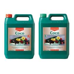 Canna Coco AB Set - 5L - Hydroponic Growing  Growth  Flowering Nutrient