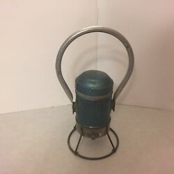 Vintage - Star Headlight And Lantern Company - Railroad Lamp - Made In Usa Works