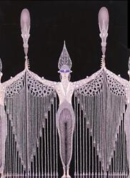 Erte Pearls Hand Signed And Numbered Embossed Serigraph Mint Never Been Fram