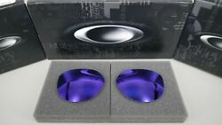 NEW Oakley DIECUTTER VIOLET IRIDIUM POLARIZED OO4137 Replacement Lens Authentic
