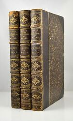 Lives Of The Princesses Of Wales B.c. Finch 1883 3 Book Set Leather Zaehnsdorf