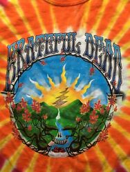 Grateful Dead Sunrise Tie Dye Shirt (sz Large) New never worn GARCIA LESH WEIR