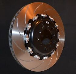 355 To 410mm Nanduumlr 2-piece Brake Disc Rotors Slotted/drilled/hook Bolted/floating