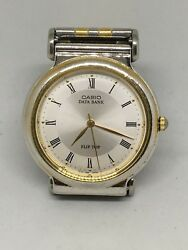 Casio Data Bank Watch For Parts, Sold As Is