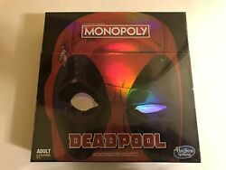 New Sealed Monopoly Deadpool Collectors Edition Adult 2-6 Player Board Game New