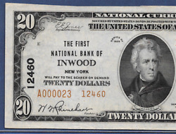 Ny 1929 20 Type-2 ♚♚inwoodnew York♚♚ Pcgs About New 53 Ppq Best Known