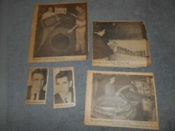 1965 Ashland Oh Tg Clippings - Carl And Henry Blumenschein - Ash. Rubber Mat