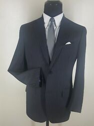 Etro Made In Italy Wool Sport Coat Silk Lined 2 Btn. Center Vent 40 R- Fit 42 R