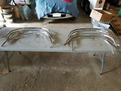 1968 Dodge Charger 1969 Wheel Well Trim Molding Stainless 1970 Lot Need Repair