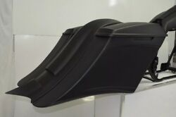 Harley Touring Stretched Extended Saddle Bags And Rear Fender Long Tail 2014-18