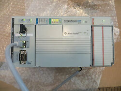 Allen Bradley Compactlogix 1769-l23e-qb1b 1769-if8 2010 Very Nice Used Tested