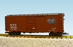 Usa Trains G Scale R19210a Nyc 40' W/6' Panel Sup - Bc Red Ps1 Box Car