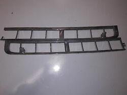 Original 1959 Chrysler Imperial Cowl Vent Screen Molding Left And Right Side